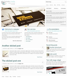 Stokatto wordpress theme