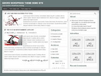 QWord wordpress theme